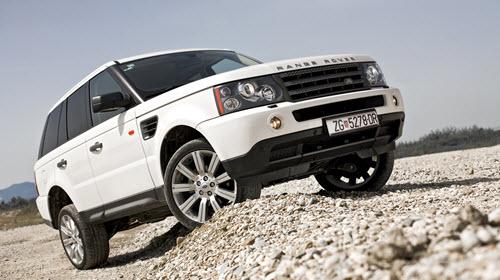 Range Rover Sport over Crest