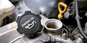 Contaminated Engine Oil