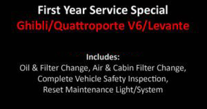 Ghibli First Year Service Special