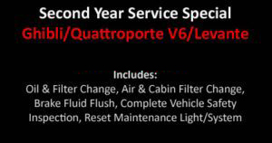Ghibli Second Year Service Special