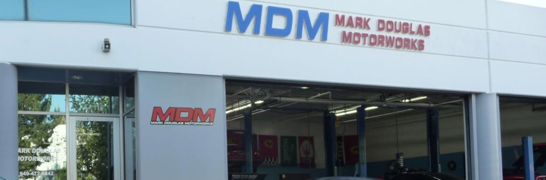 Mark Douglas Motorworks Storefront