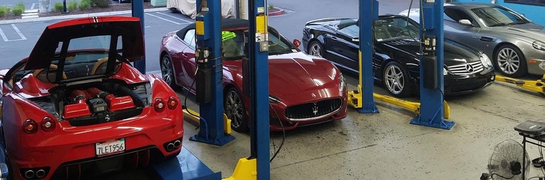 Mark Douglas Motorworks Garage