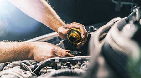 Porsche Oil Check