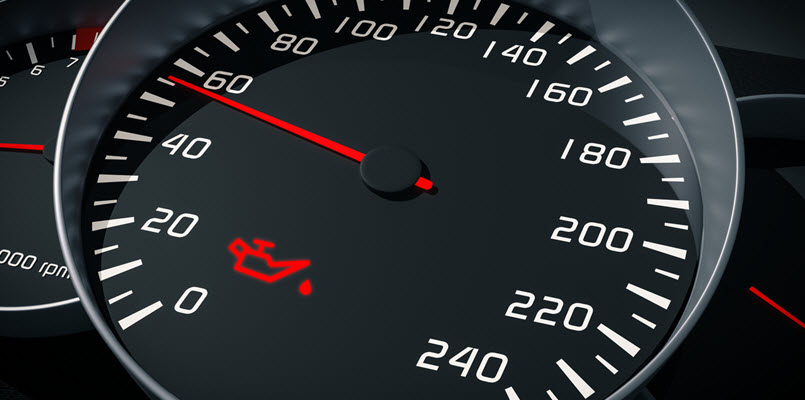 Aston Martin Oil Pressure Gauge