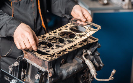 Land Rover Head Gasket Replace