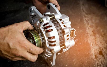 Audi Alternator Change
