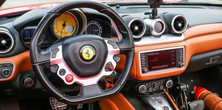 Correcting a Wandering Steering Shaft in Your Ferrari