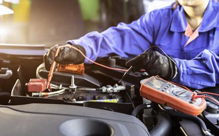 Maserati Battery Check