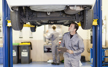 Bentley Exhaust System Inspection