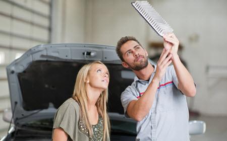 Maserati Air Filter Inspection