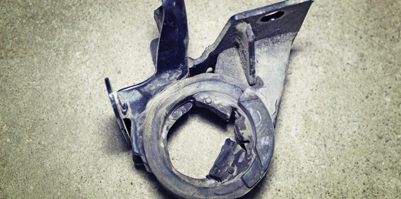 Ferrari Broken Engine Mount