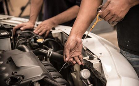 Maserati Oil Level Check