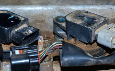 Aston Martin Ignition Coil Inspection