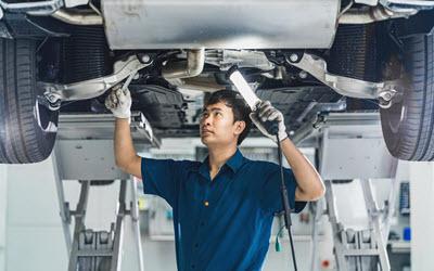 Bentley Brake Hose Inspection